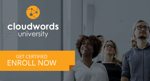 Cloudwords University - Enroll Now