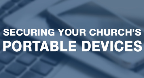 Securing Your Church's Portable Devices