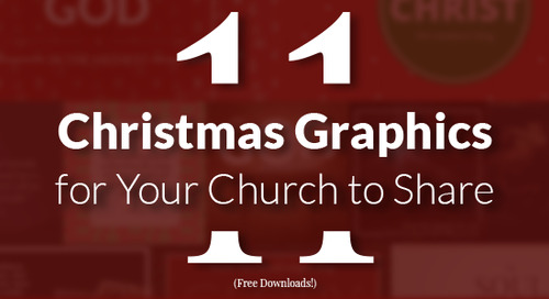 11 Christmas Graphics for Your Church to Share (Free downloads!)