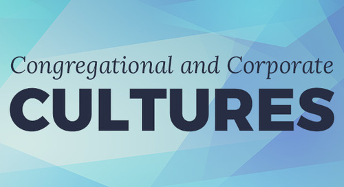 Congregational and CorporateCultures