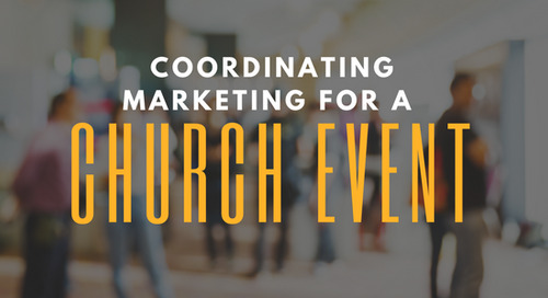 Coordinating Marketing for a Church Event