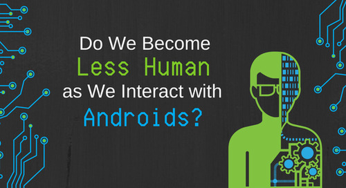 Do We Become Less Human as We Interact with Androids?
