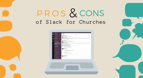 Pros and Cons of Slack for Churches