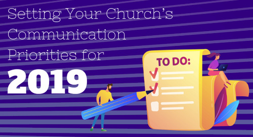 Setting Your Church's Communication Priorities for 2019