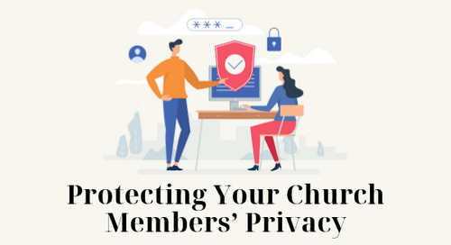 Protecting Your Church Members' Privacy
