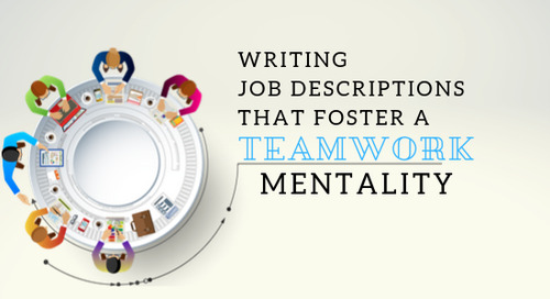 Writing Job Descriptions That Foster a Teamwork Mentality