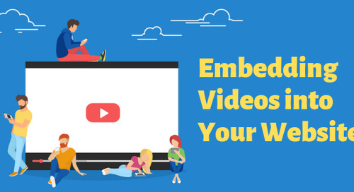 Embedding Videos into Your Website
