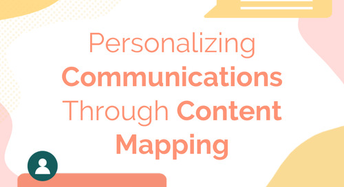 Personalizing Communications through Content Mapping