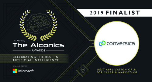 Blog: Conversica Honored Again at the AIconics Awards