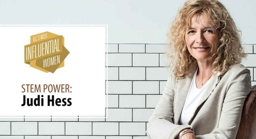 Judi Hess Featured as One of B.C.'s Most Influential Women