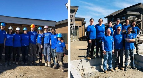 Copperleaf's RAD Initiative Builds Homes for Habitat for Humanity