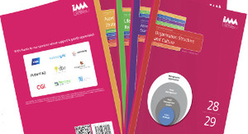 Copperleaf Sponsors the IAM Subject Specific Guidelines for Asset Management