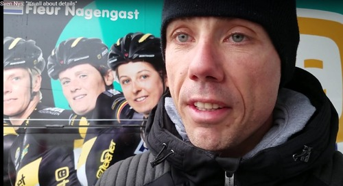 Cyclocross Legend Sven Nys Trains the New Generation with Junior Women's Camp