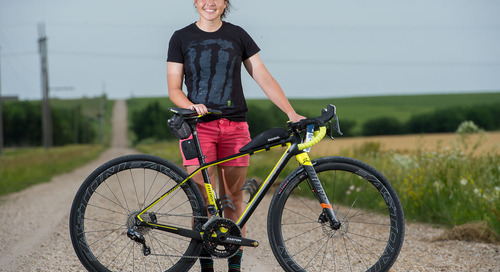 Interview: Amanda Nauman on Five Seconds, 206 Miles, Breaking Records and Cyclocross Squish