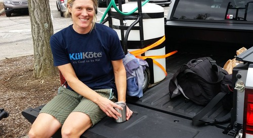 Interview: A Truck Bed Chat with Katie Compton at the 2017 Pan-American Championships