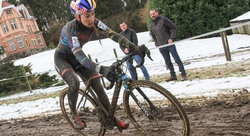 Who's Down with PFP? Ferrand Prevot Caps Return at Snowy, Muddy Vlaamse Druivencross – Report, Results