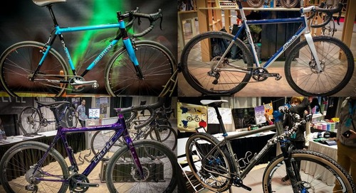 NAHBS 2018 Photo Gallery: Cyclocross and Gravel Bikes