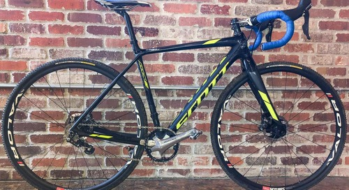 Nationals Bike: Jake Wells' Converted Singlespeed-Winning Scott Sports Addict CX With Stan's Valor Tubeless Wheels