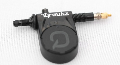 Check Your Tire Pressure in Real Time with Quarq's TyreWiz Sensor – 2018 Sea Otter
