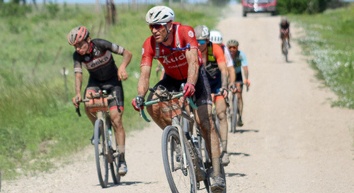 Mini-Cokes, Aero Bars and Gravel Grit: Ian Tubbs' Improbable DK200 4th-Place Finish
