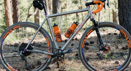 Gravel Bike: NTP Bikes Titanium Cyclocross/Gravel Bike Spotted at Lost and Found