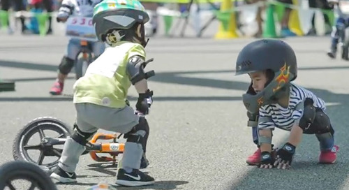Do We Need More Rules in Strider Bike Racing? [Warning: Super Cute] – Video