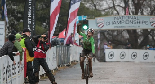 Zoerner Comes Back to Repeat in Junior Women 15-16 – 2018 Louisville Cyclocross Nationals Race Results