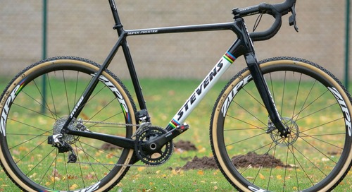 Worlds Bike: Wout Van Aert's Ever-Changing Stevens Super Prestige