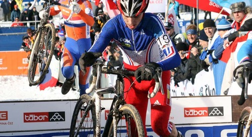 Cyclocross Worlds Medalists Go 1-2 at 2020 Imola Road Worlds Men's Race