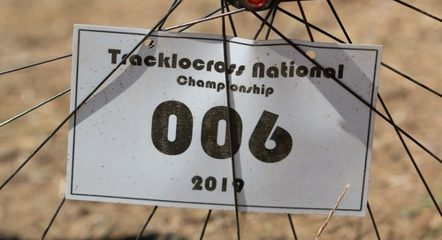 Bike Profile: Kell McKenzie's Tracklocross Nationals Squid Fixed Gear $quidcross