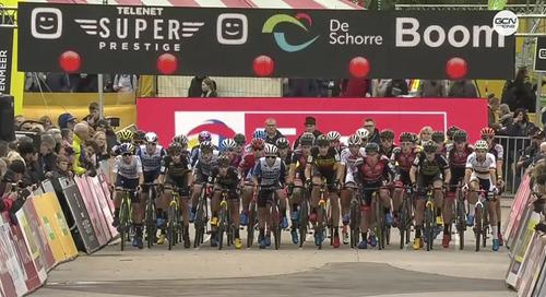 Race Replays: 2019 Superprestige Boom Elite Women and Elite Men