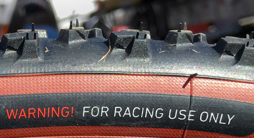 Spotted: IRC's Prototype Mud Tire