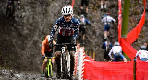 Andrew Strohmeyer Feels Right at Home Racing in Belgium