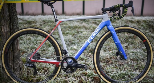 Bike Profile: Quinten Hermans' Cube Cross Race C:62