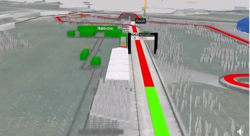 Video: 2020 Dübendorf Cyclocross Worlds Virtual Course Tour