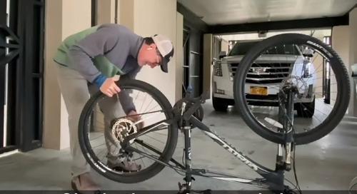 Video: Stephen Colbert Turns to Bike Repair During Coronavirus Downtime