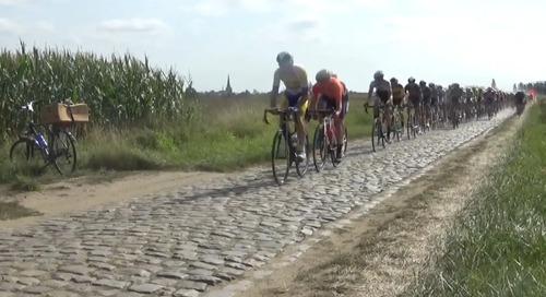 Watch: Vos Continues La Rosa Winning Streak, Vermeersch Victorious on Gravel, Van Aert Yo-Yos to Third