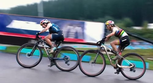 Watch: Cyclocross World Champs Clean Up at Muddy Nove Mesto UCI Short Track Women's Race