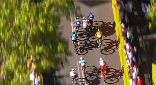Video: Van Aert's Stage 7 Sprint at the 2020 Tour de France