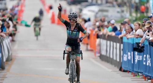 2021 Unbound Gravel 200 Women's Results: Lauren de Crescenzo Solos to Victory