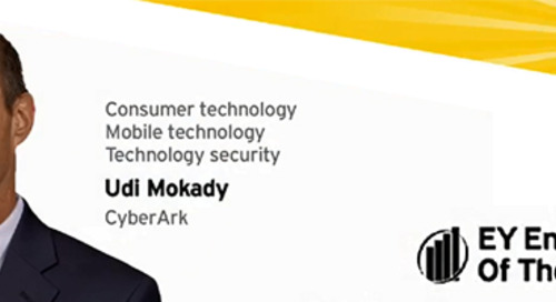 Congratulations to CyberArk CEO Udi Mokady – Entrepreneur of the Year