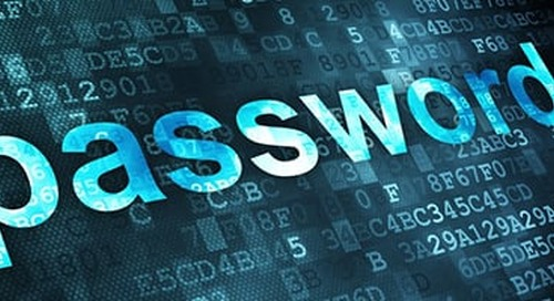 Passwords are not Treated as Critical to Cyber Security