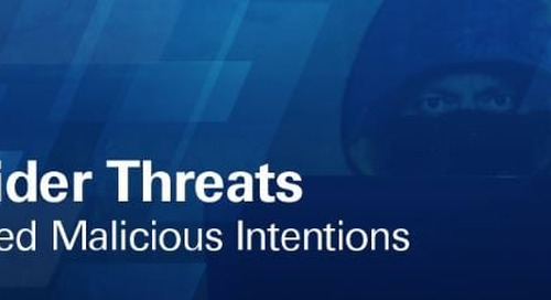 Infographic: Insider Threats Exceed Malicious Intentions