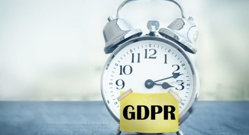 When It Comes to GDPR, Don't Wait and See