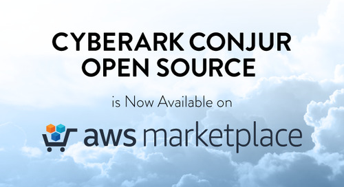 CyberArk Conjur Open Source is Now Available on AWS Marketplace