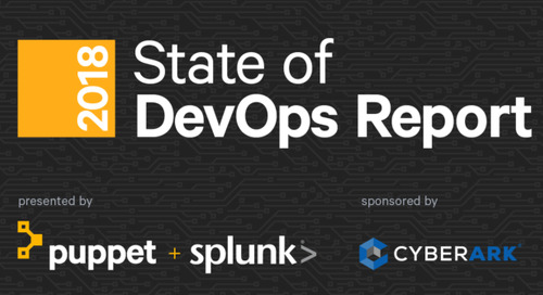 Puppet's '2018 State of DevOps Report' Highlights Increasing Importance of Security as DevOps Evolves