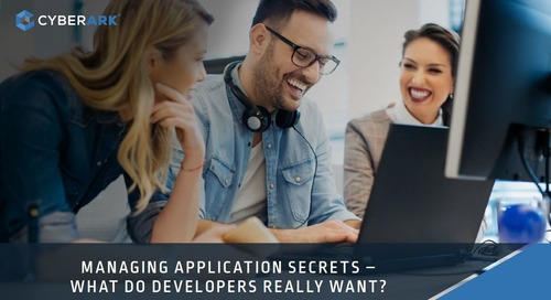 New DevOps eBook: Managing Application Secrets – What Do Developers Really Want?