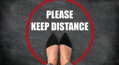¿Ha oído hablar del distanciamiento social? Practique ahora el distanciamiento del riesgo