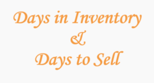 ProfitTime in Practice: How Days in Inventory, Days to Sell Work Together
