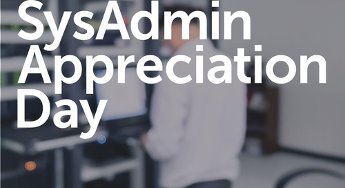SysAdmin Appreciation Day 2016 Giveaway